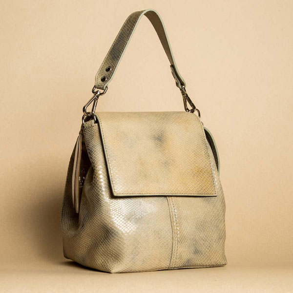 Faulhaber Products ROTA handbag in special fake snake leather