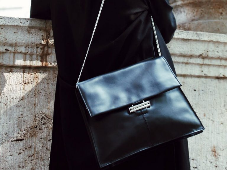 Faulhaber Products SOL handbag in black natural leather