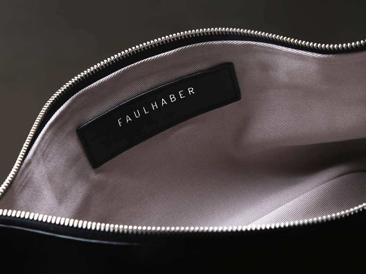 Faulhaber Products VAR handbag in black natural leather