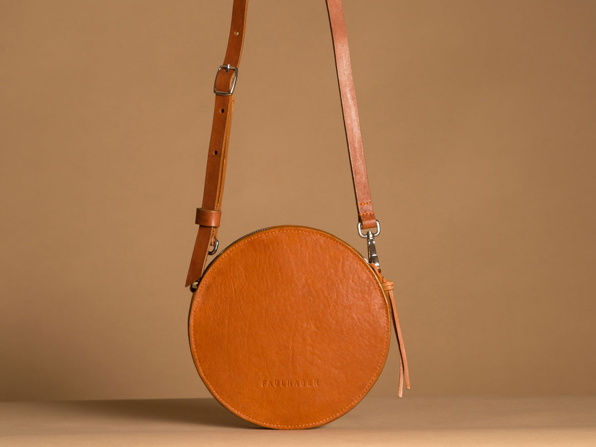 Faulhaber Products VE handbag from vegetal tanned leather