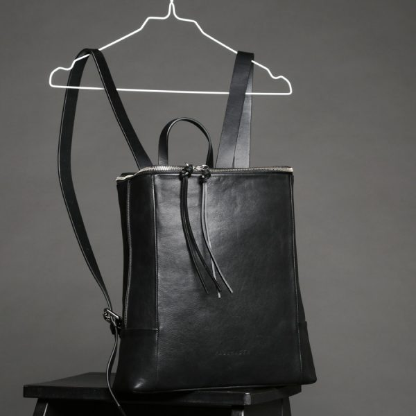 Faulhaber Products SYN backpack in black leather